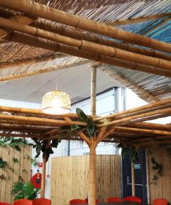 Bambus Runde Stokke