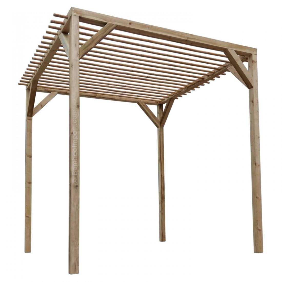 Picture of: Traepergola Med Bambusbjaelker Bambus Produkter