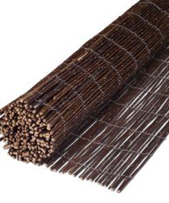 Bambus Lærred Hegn Rulle