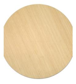 Runde Bambus Bord