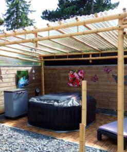 Bambus Pavillon/Pergola