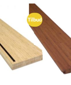 Bambus Terrassebrædder og Trappetrin