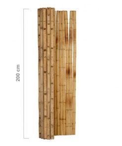 Halv rund naturlig hegnruller